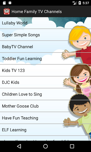 Home Family TV channels 2.1.0 screenshots 1