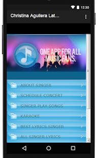 Christina Aguilera Songs & Lyrics, latest. - náhled