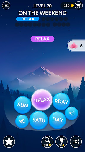 Word Serenity - Calm & Relaxing Brain Puzzle Games screenshots 1