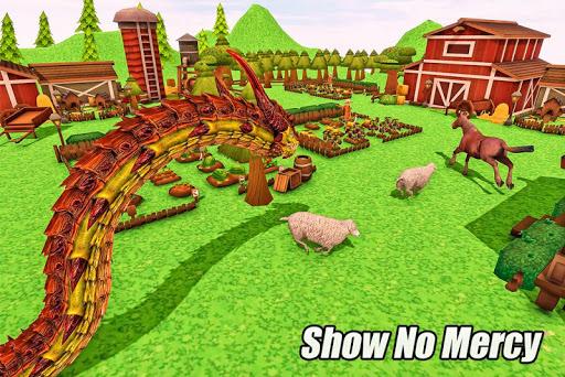 Furious Anaconda Dragon Snake City Rampage screenshot 11