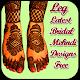 Leg Latest Bridal Mehndi Designs Free Download on Windows