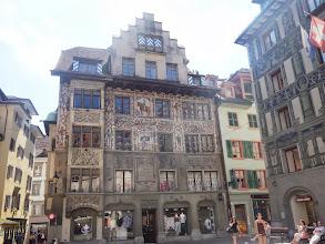 Photo: fasády v Luzernu
