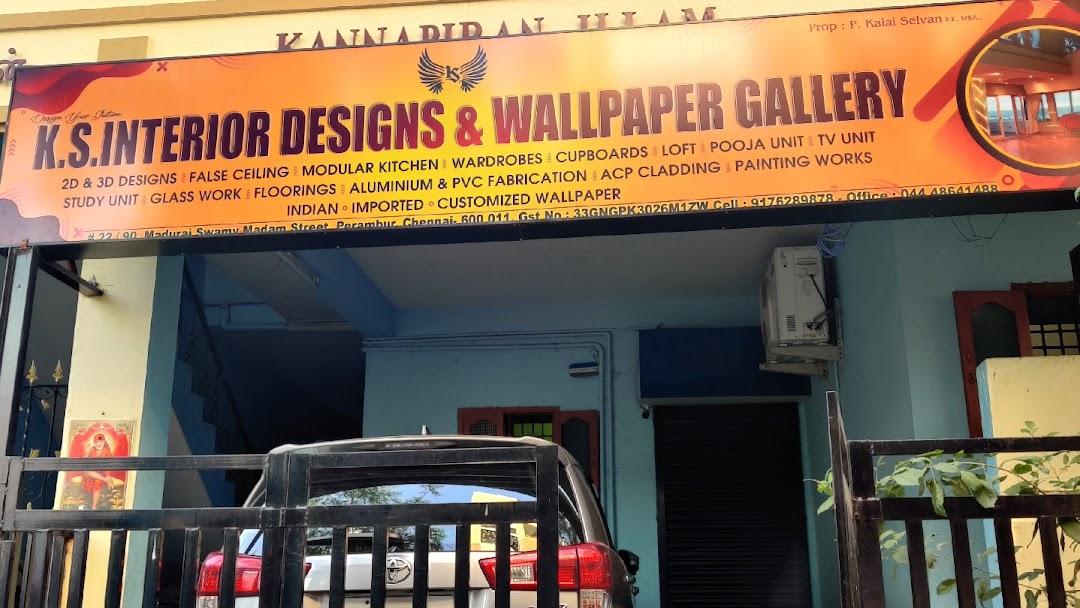 Ks Interior Designs And Wallpaper Gallery Wallpaper Store In Perambur