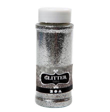 Glitter 110g silver