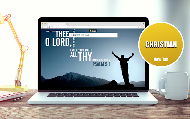 Christian Wallpapers New Tab Theme