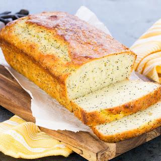 Greek Yogurt Lemon Poppy Seed Bread.