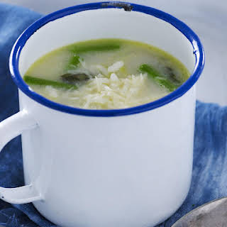 Asparagus and Rice Broth.