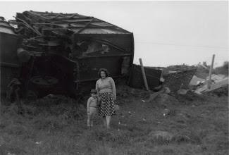 Photo: Goods Train Derailed Wateringbury 1965/6