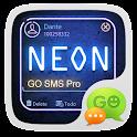 (FREE) GO SMS PRO NEON THEME icon