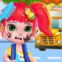 School Girl - Kids SPA Salon icon