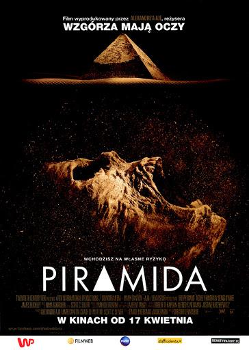 Przód ulotki filmu 'Piramida'