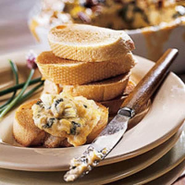Pecan-crusted Artichoke Spread
