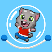 Talking Tom Jump Up Android APK Download Free By Outfit7 Limited