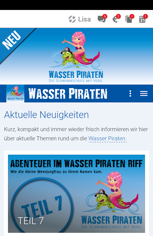 Wasser Piraten- screenshot