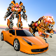 White Tiger Robot Transformation Game - Car Robot APK