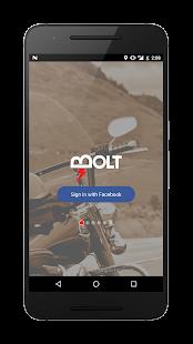 Bolt Riders App - náhled