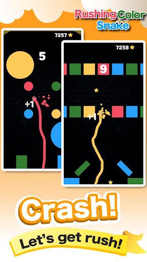 Rushing Color Snake-Super Fun Speed Leisure Games screenshot 1