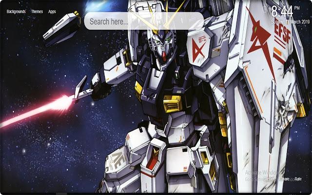 Mobile Suit Gundam Wallpapers New Tab