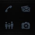 Rattleskin Gray Leather Icons icon