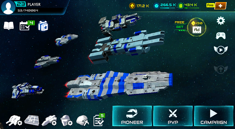 Starship battle Screenshot 0