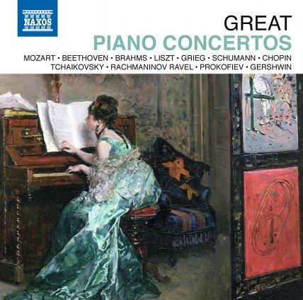"""Photo: Jubiläumsbox """"Great Piano Concertos"""" Virtuose Klavierkonzerte"""