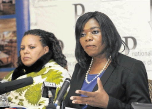 SWORN ENEMIES:  Deputy public protector  Mamiki Shai has accused  her boss Thuli Madonsela of calling her names and being a bully.         PHOTO:   Russell  Roberts