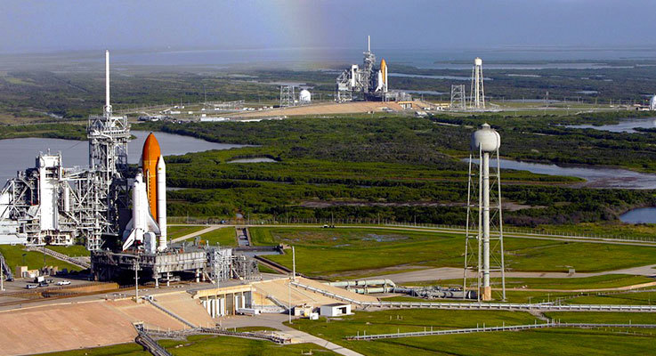 NASA launchpad in Cape Canaveral, Florida