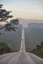 Photo: Road to Mubende