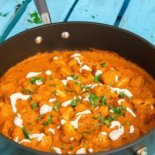 Cauliflower Tikka Masala.