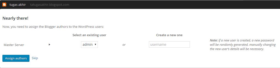 import blogger ke wordpress
