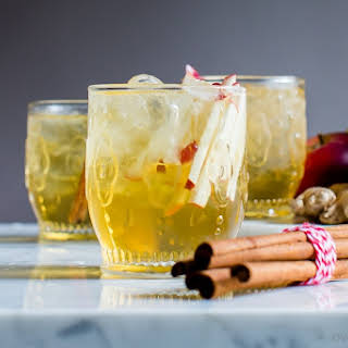 Sparkling Apple Bourbon Sangria.