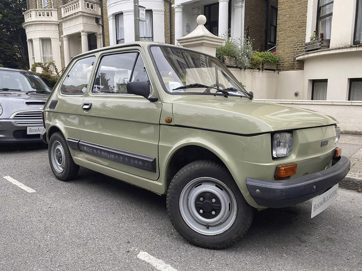 Fiat 126 Hire London