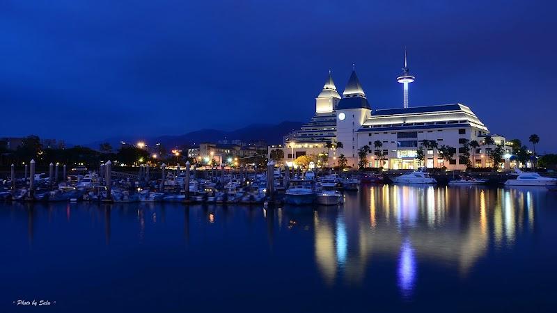 新北 淡水 漁人碼頭 夜景 攝