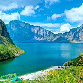 Mt. Pinatubo (Philippine Volcano) by Eric Dimaano - Landscapes Mountains & Hills