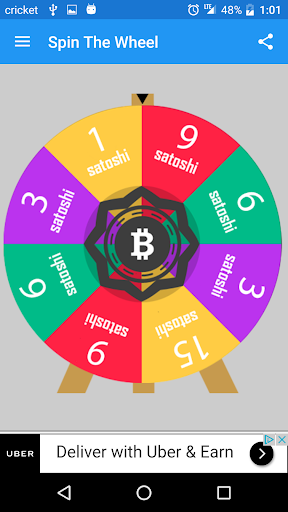 Wheel of Bitcoin  screenshots 1