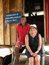 Photo: Pen Sarin, new home and Lisa A Mine Free World Foundation