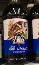 Photo: First Street Vanilla Extract for the cookies