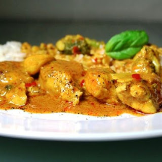 Thai Coconut Curry Chicken with Sweet Potato Recipe