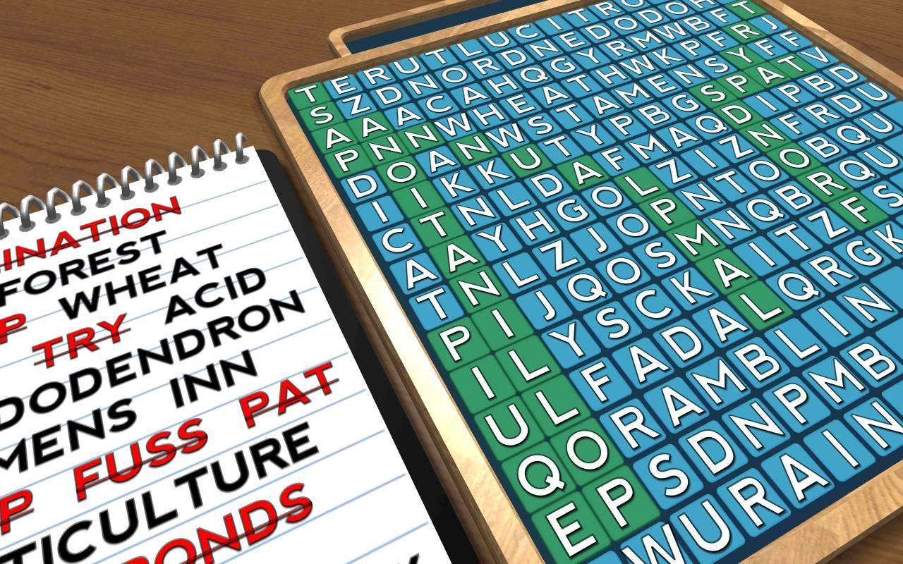 Wordsearch Revealer - Plants- screenshot