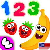 Funny Food 3! Kids Number games for toddlers!