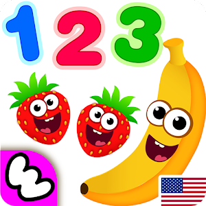 Funny Food 3! Kids Number games for toddlers for PC