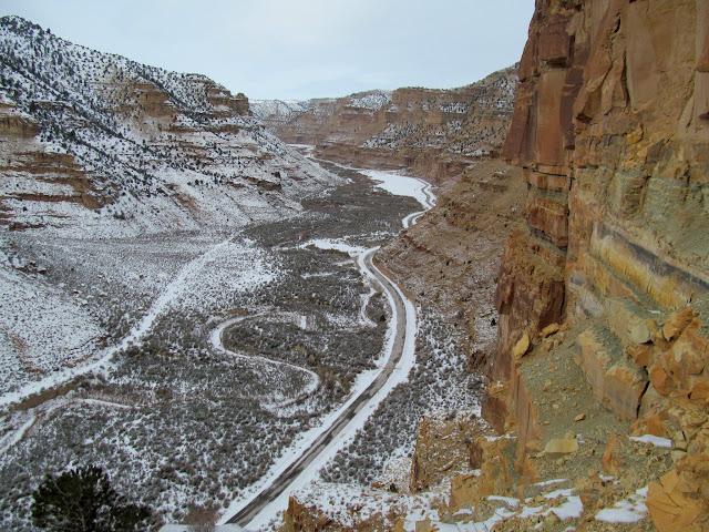 Above Nine Mile Canyon