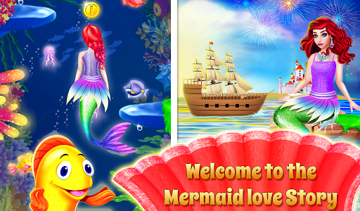 Mermaid & Prince Rescue Love Crush Story Game filehippodl screenshot 6