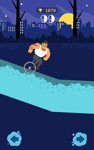 Unicycle Downhill screenshot 6