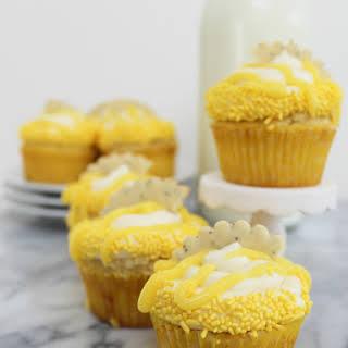 Fresh Lemon Cupcakes.