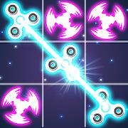 Tic Tac Toe Glow - Fidget Spinner
