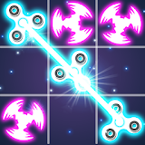 Tic Tac Toe Glow - Fidget Spinner file APK Free for PC, smart TV Download