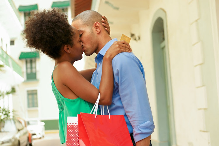 The writer says young women should not rely on men to buy them necessities.