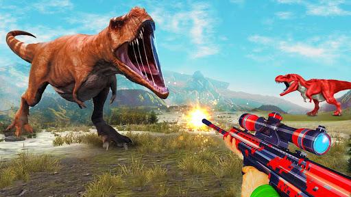 Angry Dinosaur Hunter : Animal Hunting Games cheat hacks
