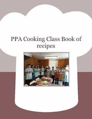 PPA Cooking Class Book of  recipes